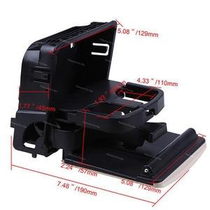 Image 4 - 1K0862532 1KD862532 Central Console Armrest Rear Cup Drink Holder For VW Jetta MK5 5 Golf MK6 6 MKVI EOS