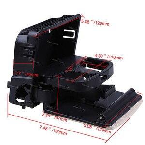 Image 4 - 1K0862532 1KD862532 merkezi konsol kolçak arka bardak içecek tutucu VW Jetta için MK5 5 Golf MK6 6 MKVI EOS