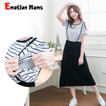 Emotion Moms maternity clothes Summer Maternity Dresses clothing pregnant dress breastfeeding Dresses For Pregnant Women emotion moms v neck summer maternity clothes maternity dresses breastfeeding clothes for pregnant women pregnant dress