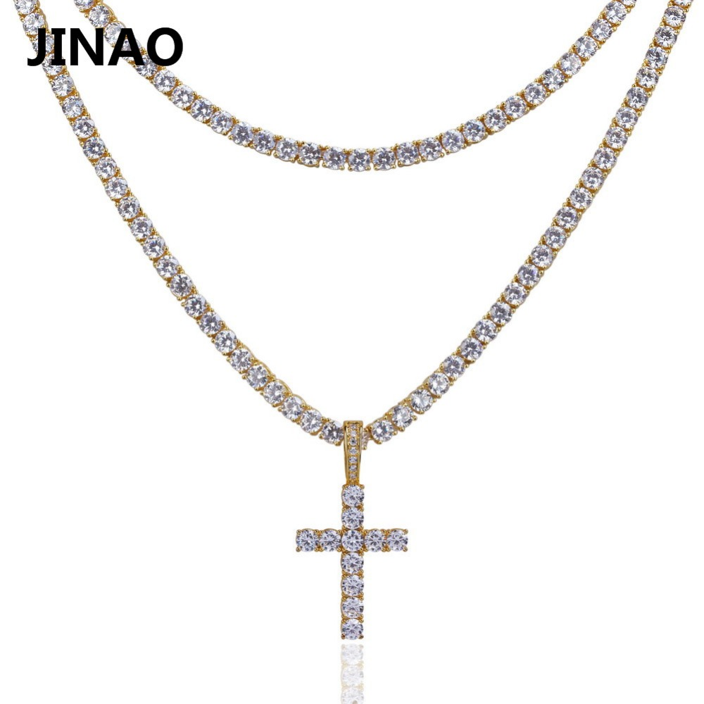 tennis for aaaa men from hip micro pave topgrillz out necklaces pendant iced hop cubic in cross all item zirconia chain two ankh chains necklace