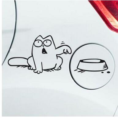 cat car fuel tank cover stickers for AUDI a1 a3 a4L a4 a5 a6 b8 c5 c6 b7 a6L a7 a8L S5 S a8 S8 Q3 Q5 Q7 SQ5 Q1 TT TTS R8 RS5 R