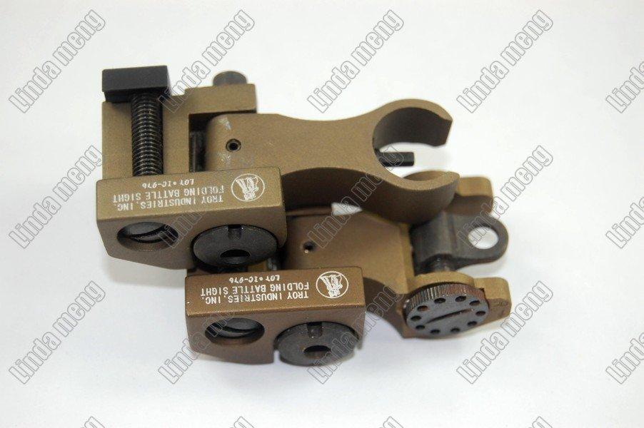Gun sight Folding Battle Rear en front Sight BRUIN