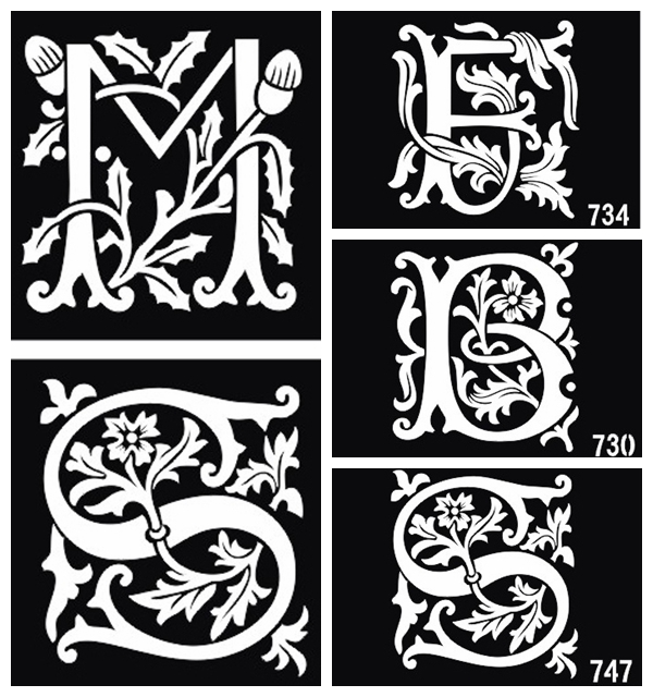 Henna tattoo lettering designs for Henna temporary tattoo stencils