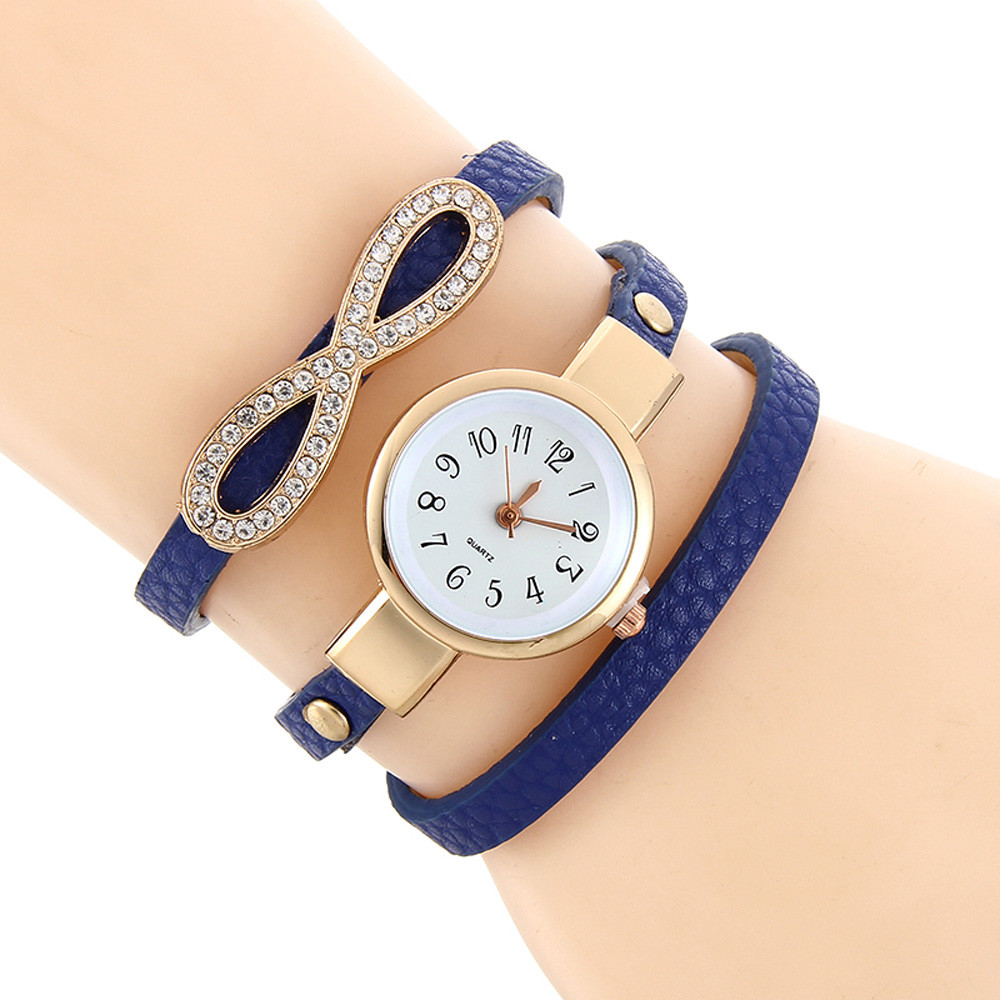 Watches New Women Men Fashion & Casual Leisure Time Faux Leather Analog Wrist Elephant Pattern Dial Watch Free Shipping Hot Selling
