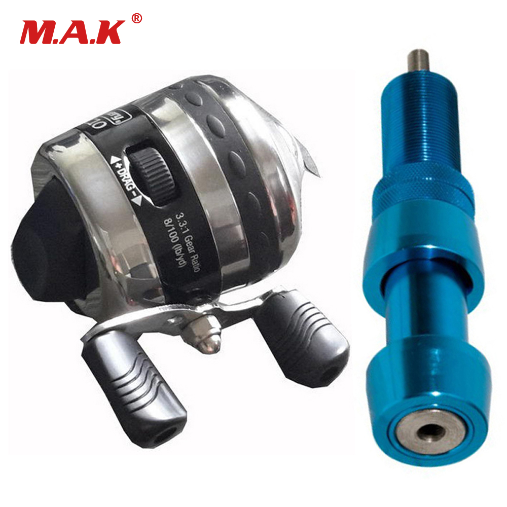 High Quality Bow Fishing Spincast Reel With 30 M Fishing Line For Compound Bow Fishing