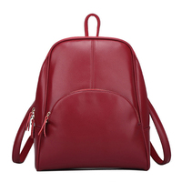 Bolsa Feminina Designer Backpacks Women Fashion Cow Split Leather Lady Bag Pure Color Simple Vintage Backpack Woman High Quality