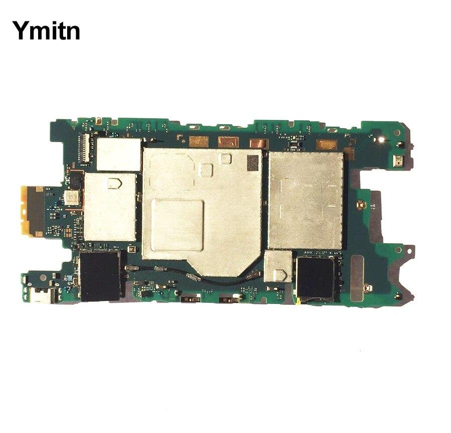 Nouveau Ymitn Logement Mobile Électronique panneau carte mère Carte Mère Circuits Câble Pour Sony xperia mini Z3 D5803 D5833 Z3mini
