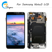 ET Super 1PCS With Frame For Samsung Galaxy Note3 N900 N9005 N900A LCD Screen Touch Display