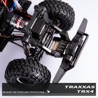 1PC Traxxas TRX 4 Front Rear Bumper Bracket Adjustable Counterweight Balance Weight Mount for Rock Crawler RC Cars Parts