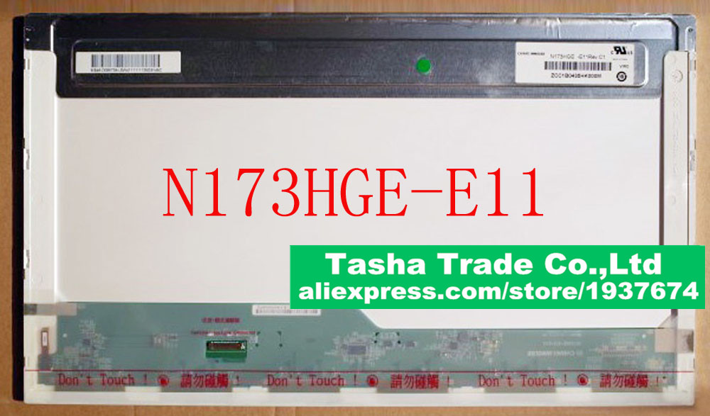 N173HGE-E11 B173HTN01.1 LED LCD Laptop Screen 1920x1080 FHD Panel Display eDP 30Pin 17.3 print bar кайло рен