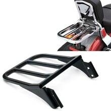 Мотоцикл Спорт Сисси Бар Спинки Багажник На крыше Для Harley Sportster XL 04-17 Softail 84-05 FLST FLSTC FLSTC FLSTF 06-17 Черный