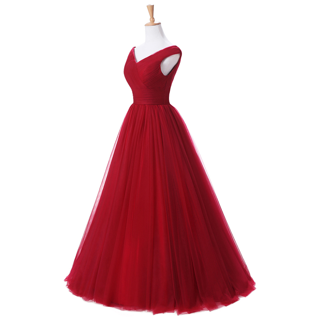 Off The Shoulder Long Prom Dress