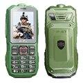 GOFLY A8S Impermeable IP67 larga linterna grabadora FM dual SIM doble modo de espera del teléfono móvil a prueba de polvo a prueba de choques resistente teléfono móvil P286