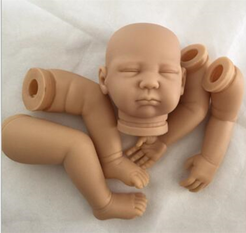 Reborn Doll Kits for 20inches Soft Vinyl Reborn Baby Dolls Accessories for DIY Realistic Toys for DIY Reborn Dolls Kits dk-78 good price reborn baby doll kits for 17 baby doll made by soft vinyl real touch 3 4 limbs unpainted blank doll diy reborn doll