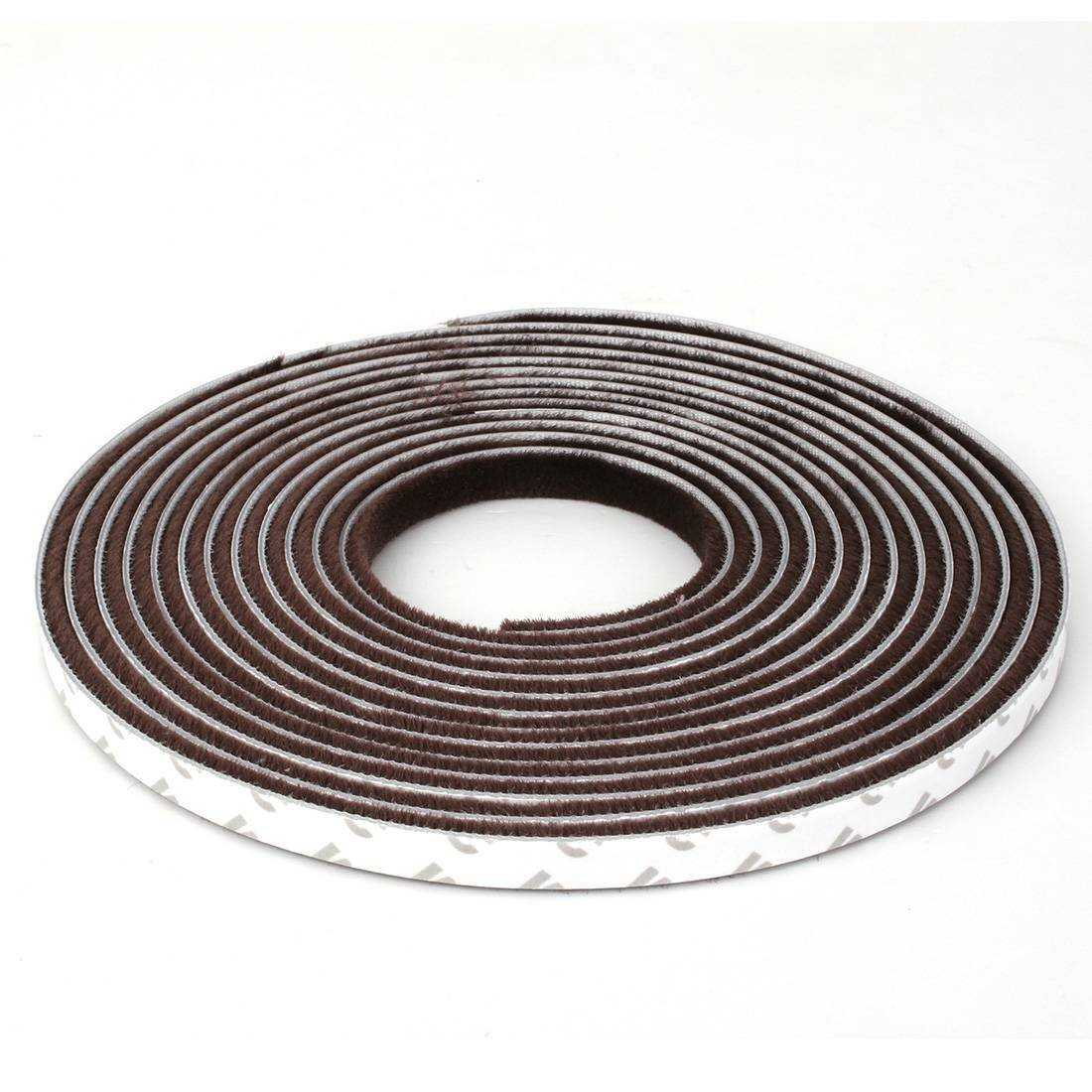 5 Meters Self Adhesive Window Seals Door Sealing Strip Door Gasket Pull Air Stop Seal Brush Brown Seal Brush Window Sealdoor Gasket Aliexpress