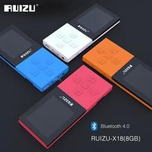 2017 Original RUIZU X18 8G Bluetooth Sport MP3 Player Lossless Recorder FM Radio
