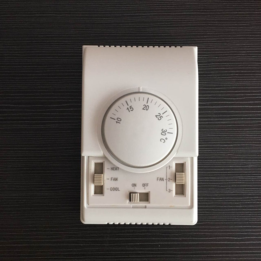 Free Shipping Honeywell Mechanical Thermostat Room Fan Coil Thermostat For Central Air Conditioner
