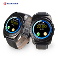Câmera smart watch bluetooth smartwatch pedômetro saúde rodada 2016 dispositivos wearable para ios android pk gt08 gv18 dz09