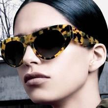 CALIFIT High Quality Black Sunglasses Women Shades Brand Design Female Fashion Cat Eye Sun Glasses For Women Gradient UV400 2018
