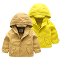 Children's jacket cotton coat zipper baby kids spring boys windbreaker