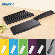 Hohe Qualität Zirkonia Keramik Messer Koch 6,5 zoll Weiß/Schwarz Klinge Bunte Griff Kochmesser Für Küche Kochen Werkzeuge