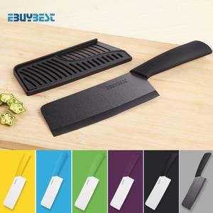 Image 1 - Yüksek kaliteli zirkonya seramik bıçaklar aşçı 6.5 inç beyaz/siyah bıçak renkli kolu şef bıçağı mutfak pişirme araçları için
