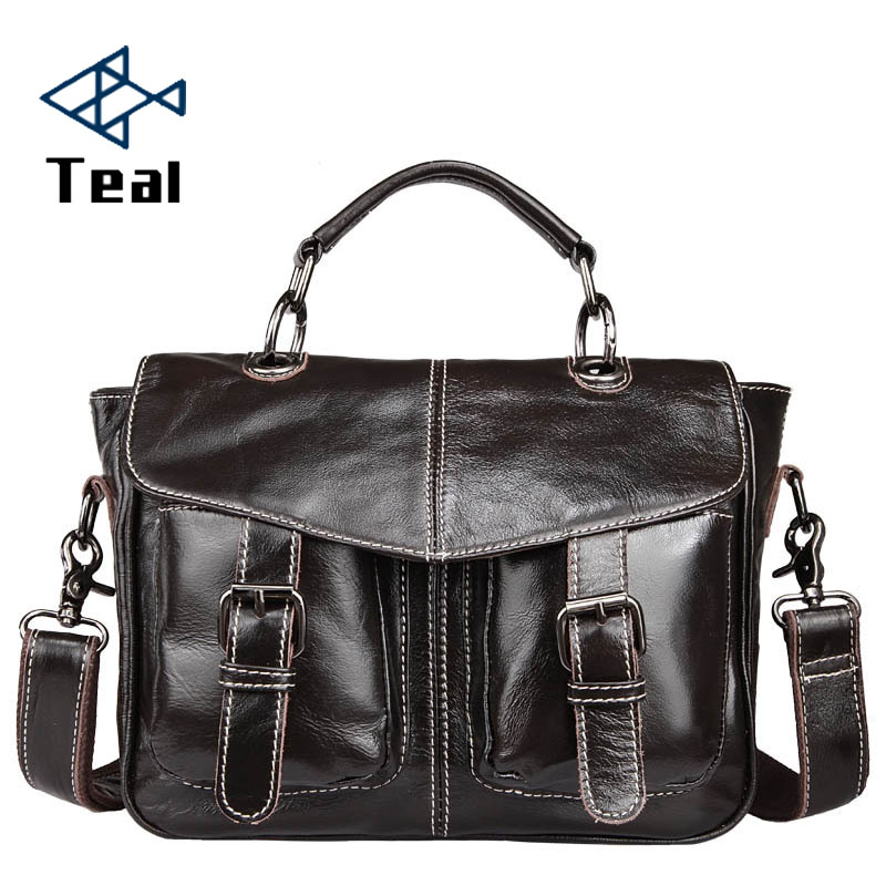 2019 New Genuine Leather Handbags Briefcase Motorcycle Bag Casual Suede Leather Handbag Ladies Shoulder Briefcase Messenger Bag
