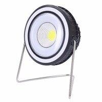 2 em 1 Cooling Fan Energia Solar LEVOU Luz Ao Ar Livre Barraca de Acampamento Caminhadas Da Lâmpada Da Lanterna Recarregável de 180 Graus de Rotação Portátil