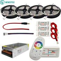 DC12V RGBW Led Light 5050 SMD Led Strip Tape 2 4G RGBW RF Remote Controller Power