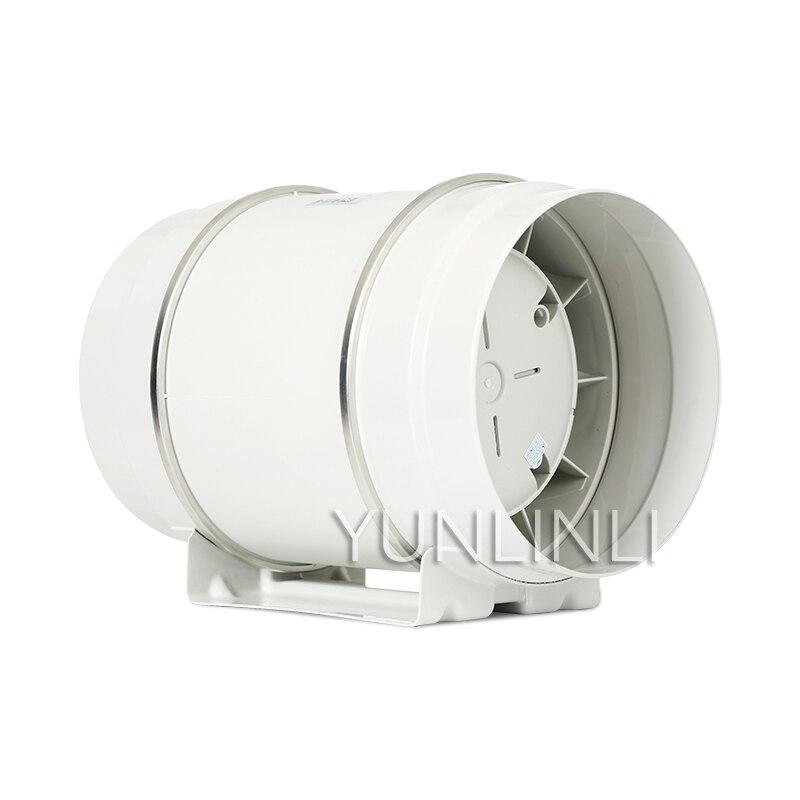 Ventilateur de conduit rond 200 MM ventilateur d'échappement de vapeur de cuisine 8 pouces ventilateur d'échappement puissant HF-200P silencieux industriel
