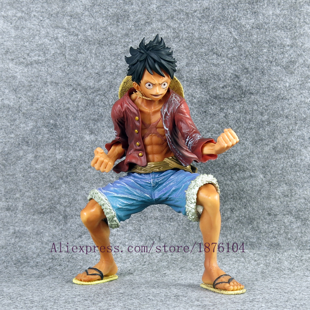 18cm Anime One Piece Monkey D Luffy PVC Action figure Zero Kits Kids Toys Collectible Model Toy Doll kids toys for boys Juguetes