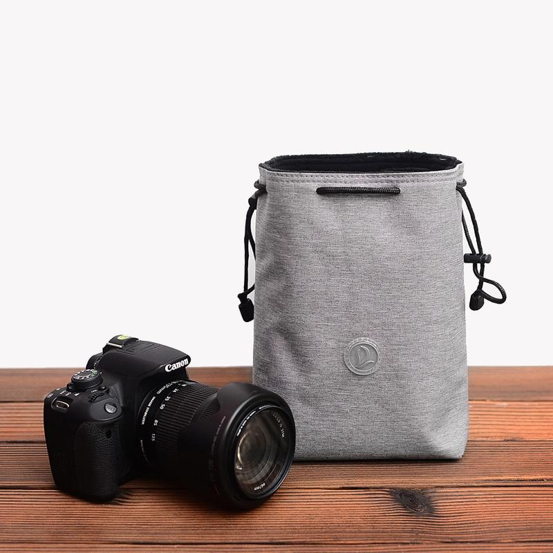 185mm WEIHONG Height WEIHONG Lens Bag SLR Camera Lens Package Thickening Shockproof Neoprene Lens Storage Bag Sticky Deduction 100mm Diameter