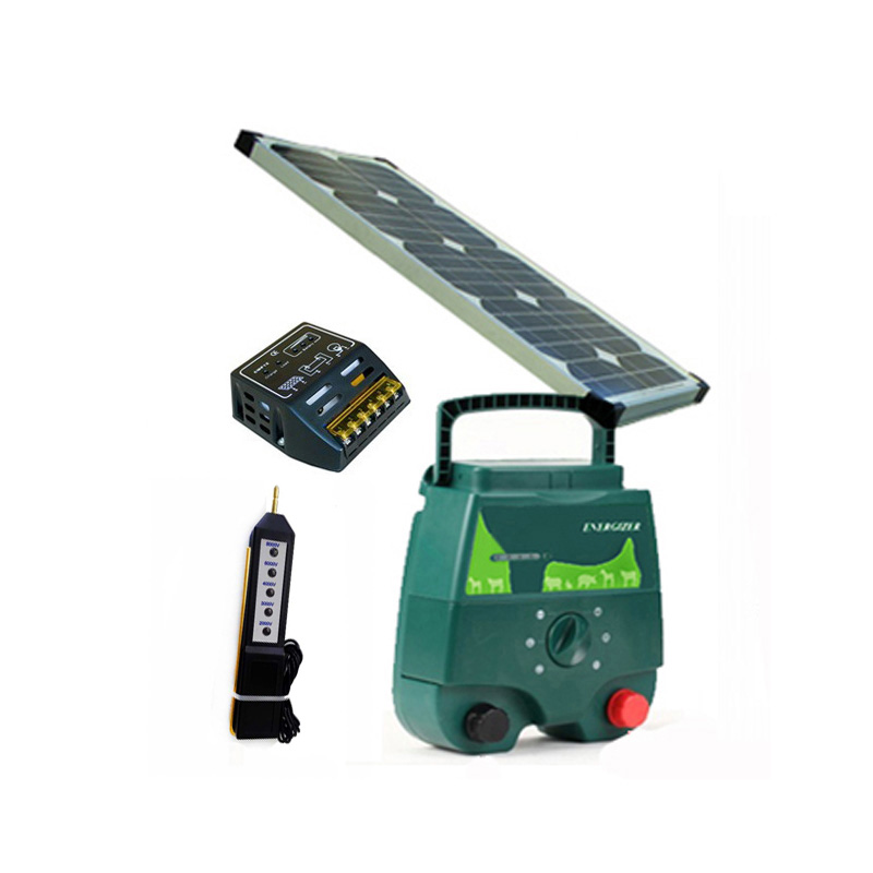 solar electric fencing charger30w solar panelsolar power fence voltage