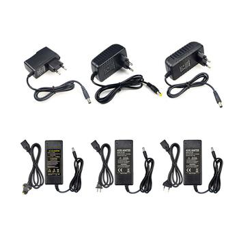 220V do 12V 2A uniwersalny adapter 3A 5A 8A zasilacz adaptador zasilacz ac dc do laptopów tanie i dobre opinie Lcamaw 1A 2A 3A 5A 6A 8A Power adapter 5 5mm * 2 5mm Used for led light Podłącz