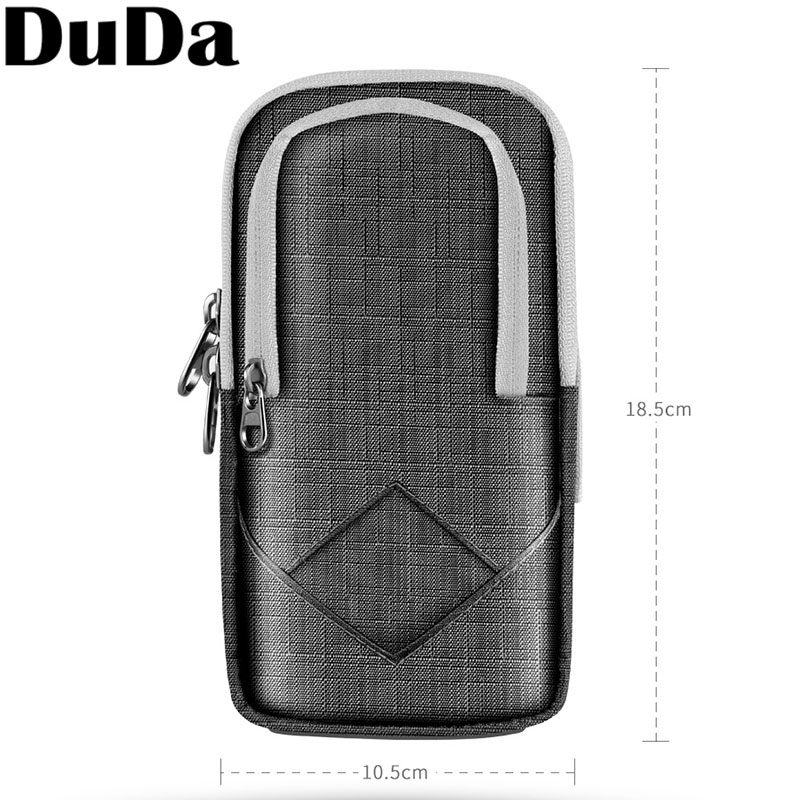 DuDa Sport Running Mobile Phone Holder Case on Hand Armband For iPhone 7 6 6s 8 plus X XS Max XR Gym Arm Band Phone Bag Pouch in Armbands from Cellphones Telecommunications