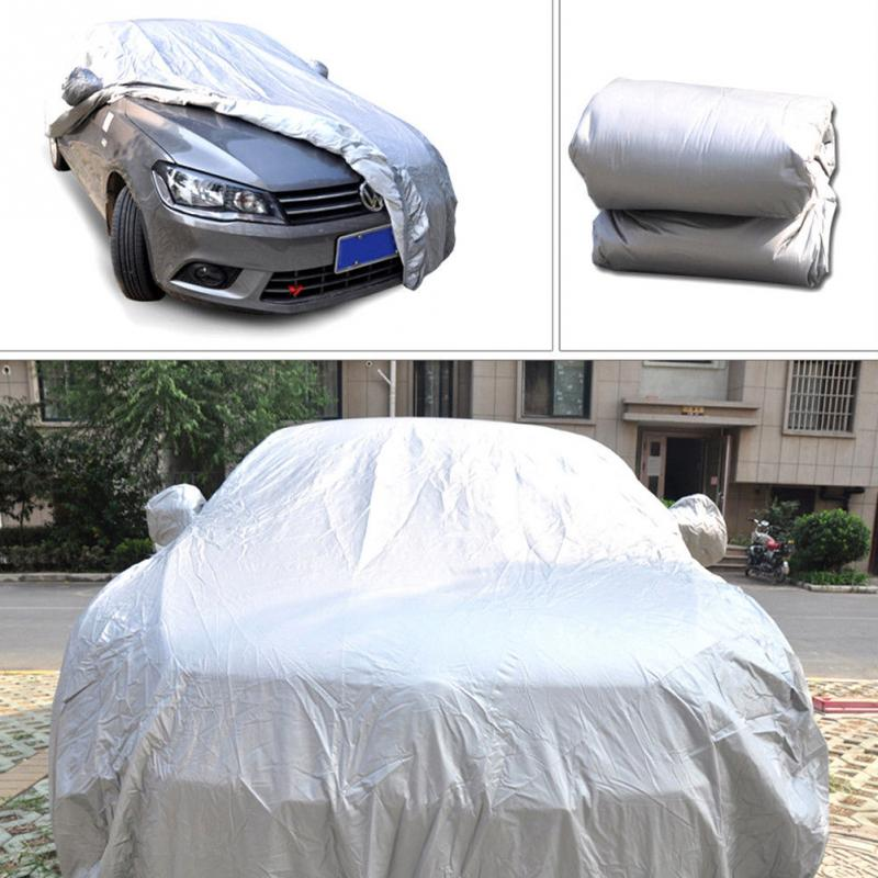 Image 4 - High Quality Universal Car Body Cover Sun proof Dust proof Car Protective Cover-in Car Covers from Automobiles & Motorcycles