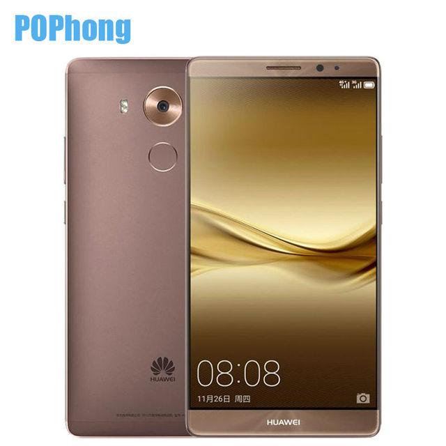 "Huawei Ascend mate 8 phone 4GB RAM 64GB ROM LTE Octa Core Android 6.0 6.0"" FHD 1920X1080 16.0MP Fingerprint"
