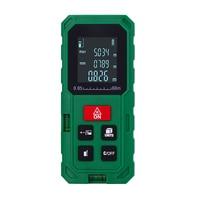 40M 60M 80M 100M Laster Rangefinder Digital Laser Distance Meter Green/Orange Colour Laser Distance Measurer Battery Not Include