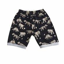 Pretty Summer Dinosaur Printed Cotton Baby Boy's Pajamas