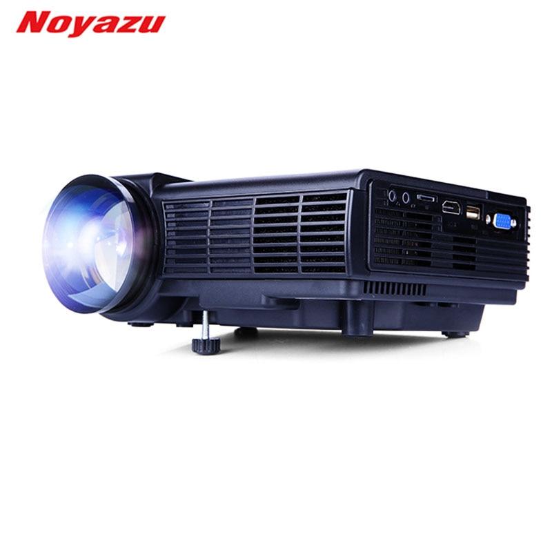 Noyazu основе Q5 1800 люмен Мини светодиодный проектор для ТВ дома Театр Поддержка Full HD 1080 P видео media player HDMI ЖК-дисплей 3D проектор