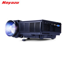 Noyazu 1800 Lumens Mini LED Projector  TV Home Theater Support Full HD 1080p Video Media player Hdmi LCD 3D Beamer