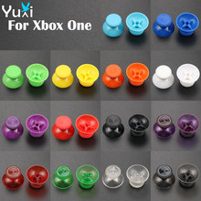 YuXi 2pcs 3D Analog Joystick Replacement Stick grips Cap for Microsoft XBOX ONE Gamepad Controller sticks For Xboxone