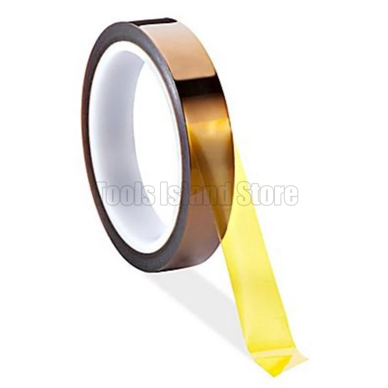 30m High Temperature Insulation Heat Resistant Polyimide Adhesive Resistant Tape For For Iphone Repair