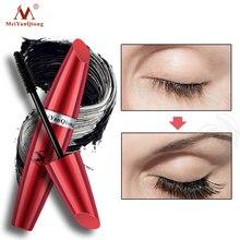4D Silk Fiber Eyelash Mascara Waterproof Cosmetics 3D Black Mascara Extension Lengthens Makeup Curl Long Lash