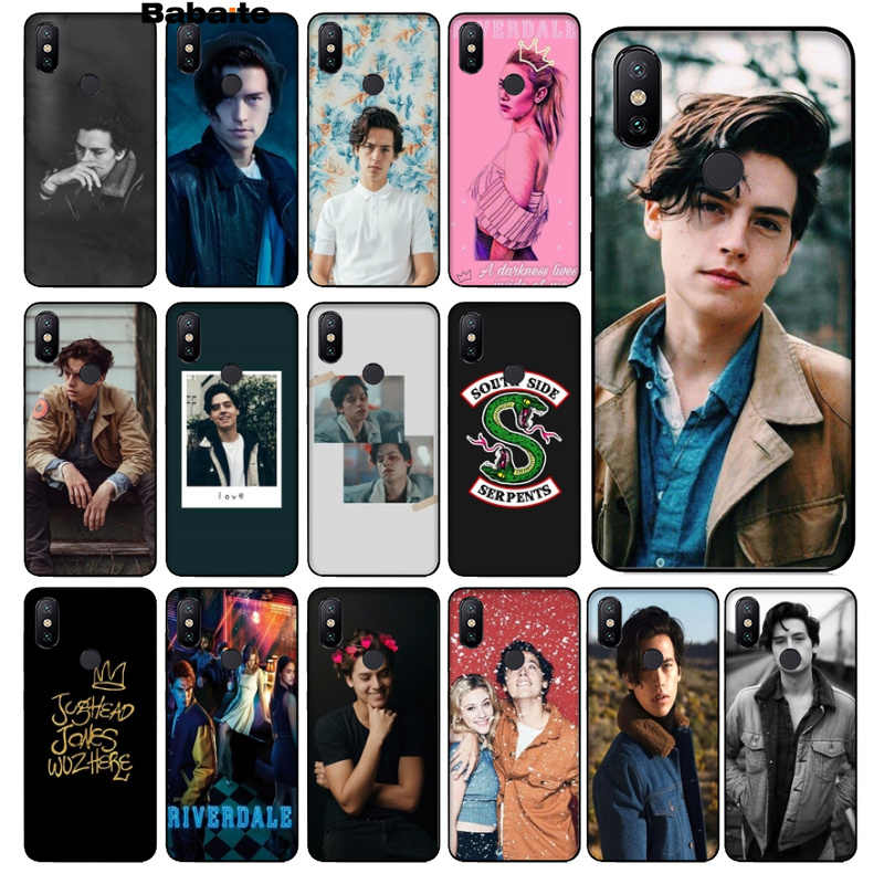 Babaite tv riverdale Jughead Jones TPU black Phone Case Cover Shell for Redmi 5 plus Note 5 Note 4 4X Xuiao Mi Note 3 8 8 SE 6