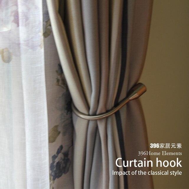1pair European Wall Hook Curtain Buckle Home Hardware Curtain ...