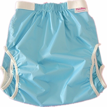 Free Shipping FUUBUU2228-BLUE Waterproof Pants/Adult Diaper/incontinence Pants /Pocket Diapers