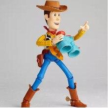SCI-FI Revoltech serie Toy Story 3 Sherif Woody 010   Buzz Lightyear socio  PVC figura de acción de colección modelo de caja de J.. 84181df10c4