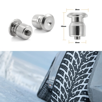 10Pcs Winter Car Wheel Lugs Tyre Anti-slip Nail Spikes for Tires Car Tires Studs Screw Snow Spikes Car Styling Tire Accessories 1