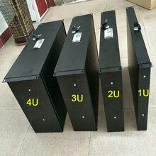 Чехол для полетов, аксессуары, 1U/2U/3U/4U, стандартный ящик для шкафа, 19 дюймов, стеллажи, ящики, чехол для полетов